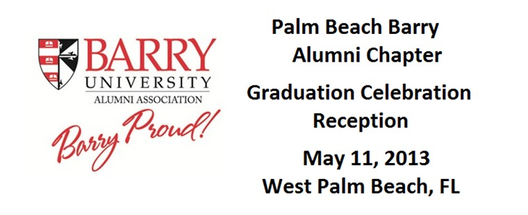 Barry Graduation Celebration and Reception in West Palm Beach