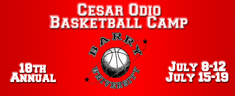 Cesar Odio: Basketball Camp at Barry University
