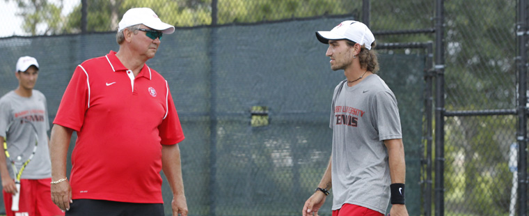 Samuel Named South Region Men's Tennis Coach of Year