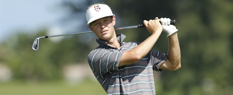 After One Round, Men's Golf Leads Regional
