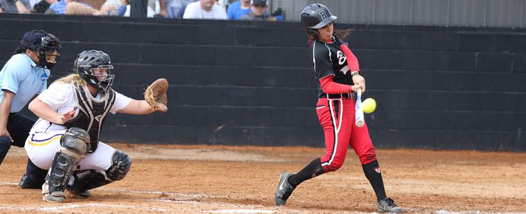 Softball Rides Pitching And Defense To Win Over Lions