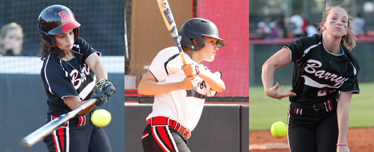 Softball Places Three On NFCA All-Region Team
