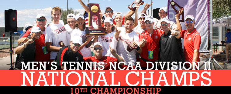 NCAA Champs: Men's Tennis Nets National Title