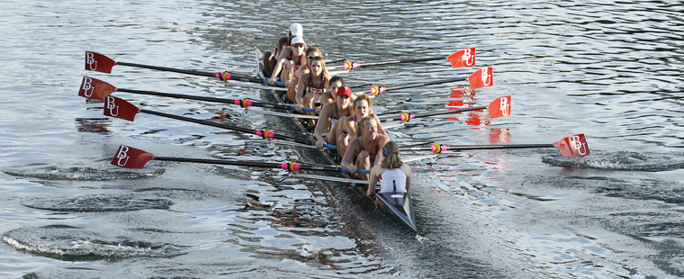 Bucs Varsity 8+ SSC Rowing's Boat of Week