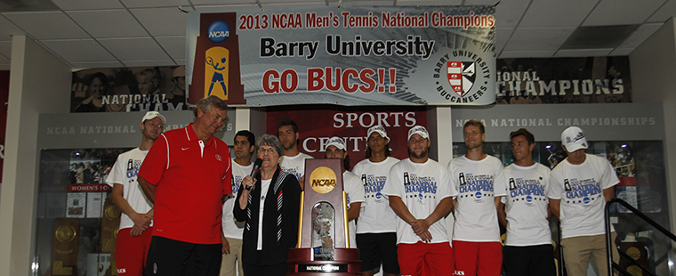 Campeones on CBS: NCAA Champion Men's Tennis on TV