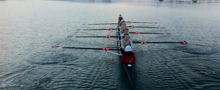 Back on Top: Rowing No. 1 in Nation