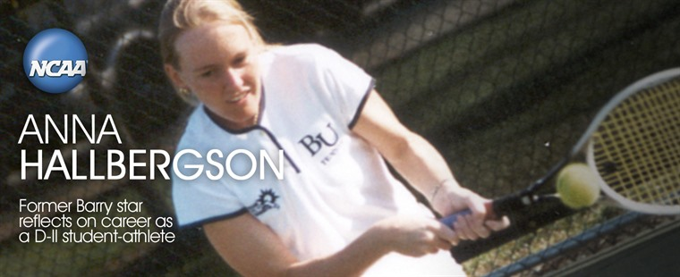 Barry's Anna Halbergson-Lewis Featured By NCAA