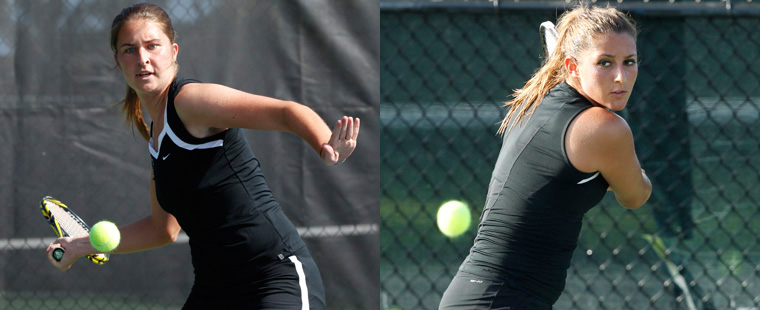 Women's Tennis Trio Named to All-SSC First Team