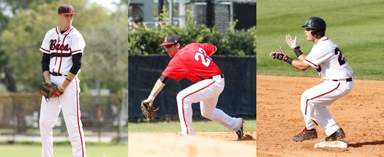Baseball Places Three On Daktronics All-Region Team