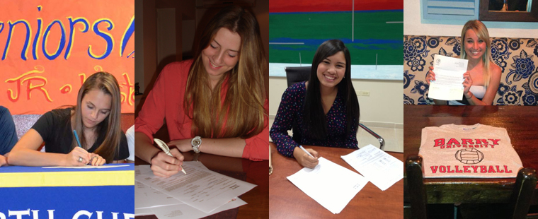 High 5: Volleyball Signs Quintet for 2013