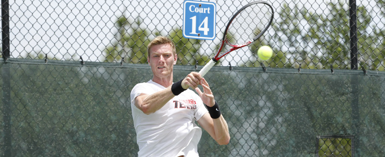 Men's Tennis' Mokrzycki Earns Academic All-District Honor