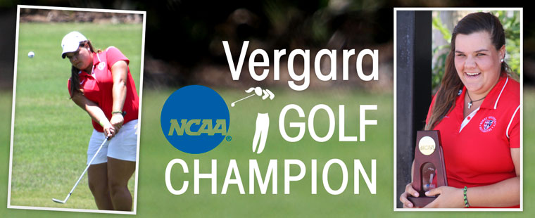 Vergara Women's Golf NCAA Champion