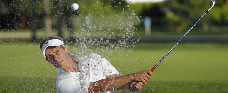 Men's Golf Shooting for NCAA Championship