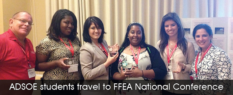 ADSOE students travel to FFEA National Conference