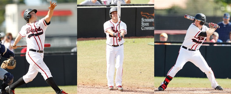 Baseball Adds Three To ABCA-Rawlings All-South Region Team