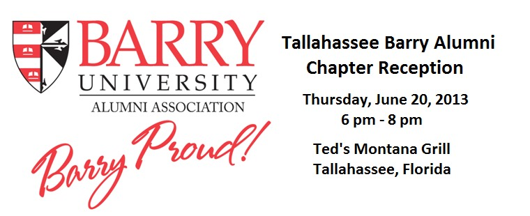 Tallahassee Barry Alumni Chapter Reception
