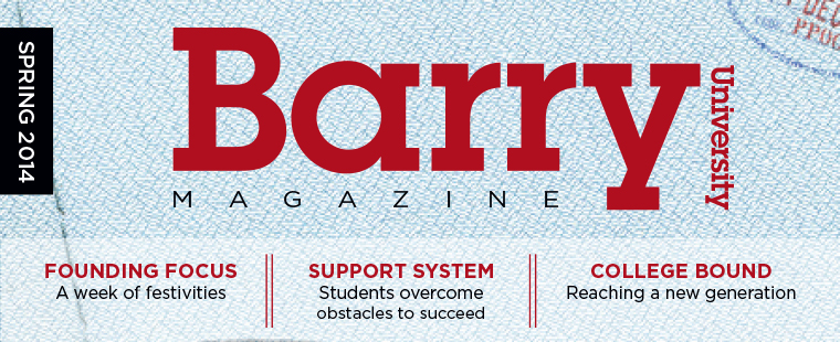 Barry Magazine: Spring 2014