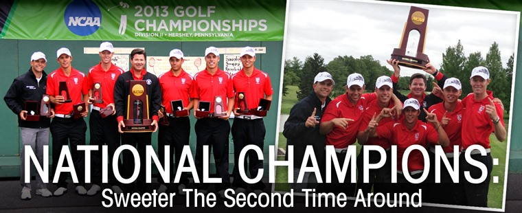 Sweet Success: Men's Golf Wins NCAA Championship