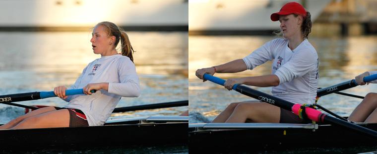 Boncheva, Kaminska Rowing All-Americans