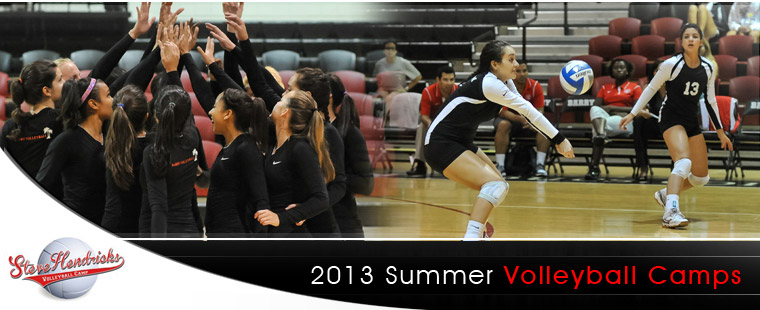 2013 Summer Volleyball Camps