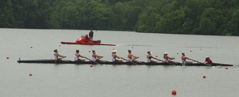 Varsity 8 Advances to NCAA Rowing Championships Grand Final