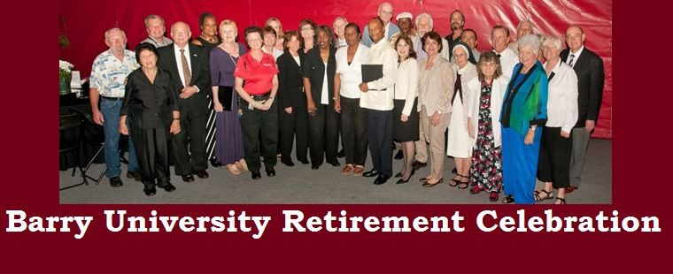 Barry University Honors 45 Retirees