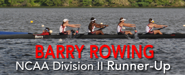 Barry Rowing NCAA Division II Runner-Up