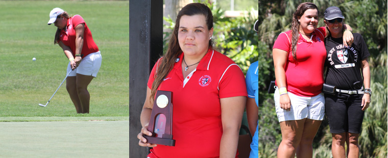 Women's Golf's Vergara Finishes as Finalist for Honda Award