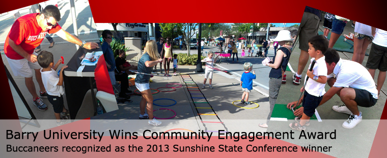 Barry University Wins Community Engagement Award