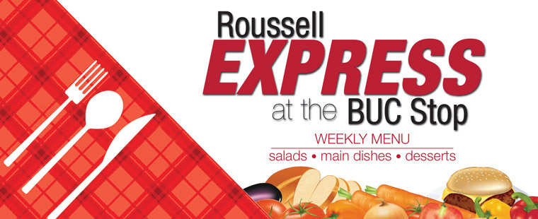 Roussell Express Dining Menu - Week of June 17, 2013