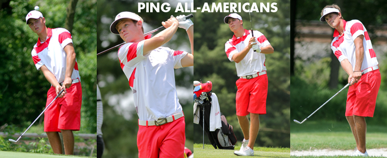 Four Men's Golfers Named All-Americans