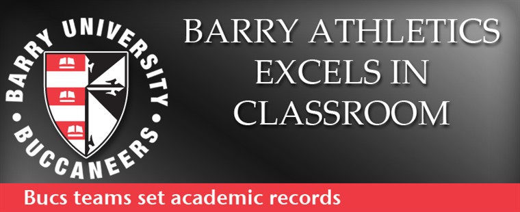 Barry Athletics Post Record-High GPA