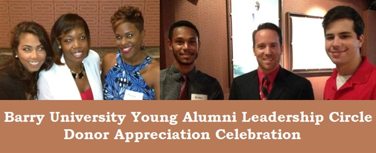 Barry University Young Alumni Leadership Circle - Donor Appreciation Celebration