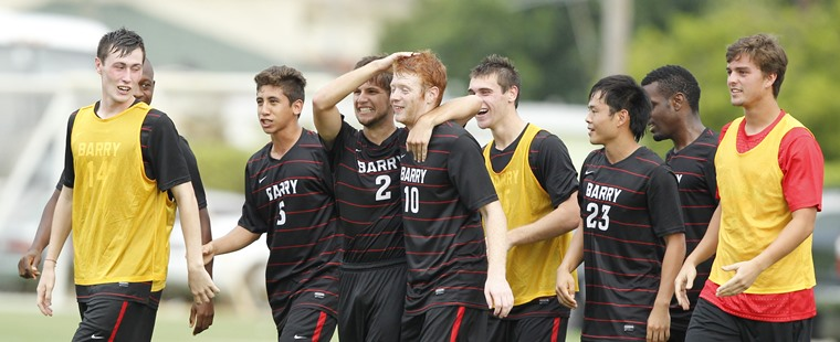 2013 Brings A Blend Of Old And New To Barry's Men's Soccer Schedule