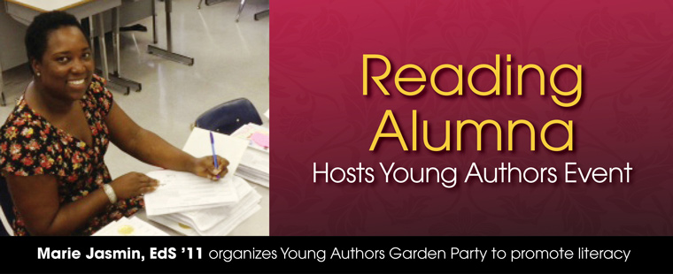 ADSOE Reading Alumna Hosts Young Authors Event