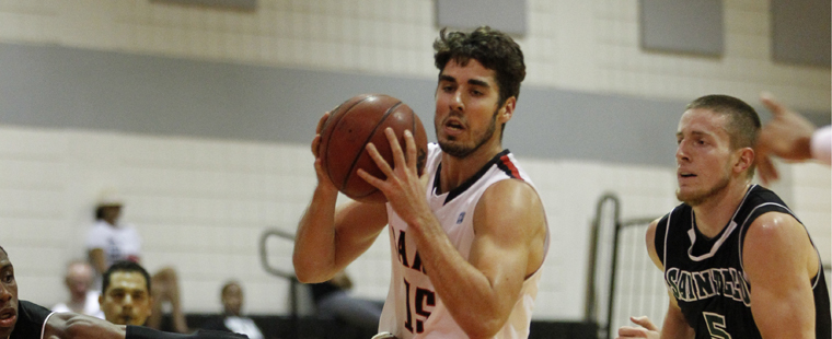 Barry Men's Basketball on an International Stage