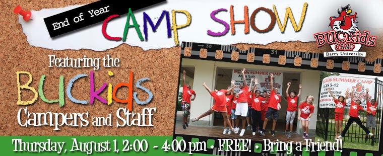 BUCKids End of Year Camp Show