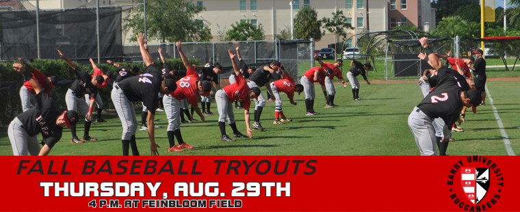 Fall Baseball Tryouts Set For Aug 29