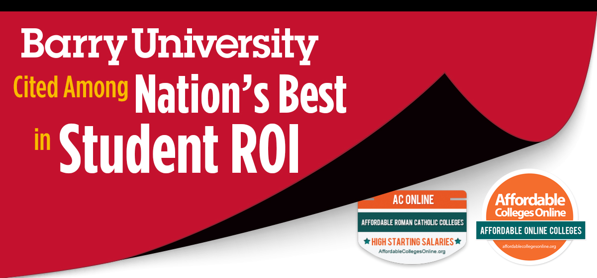 Barry University cited among nation's best in student return on investment