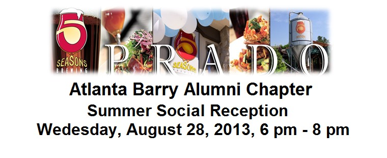 Atlanta Barry Alumni Chapter Reception
