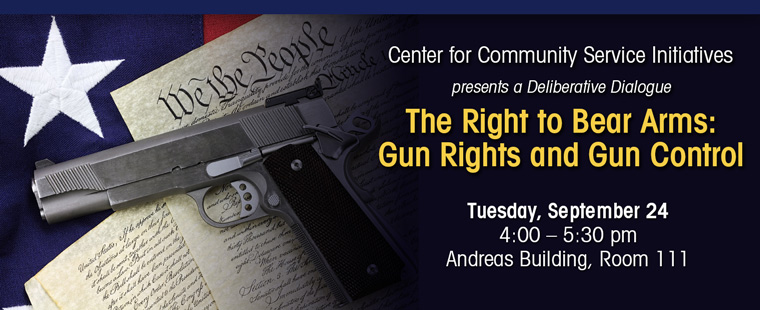 The Right to Bear Arms: A Deliberative Dialogue on Gun Rights And Gun Control