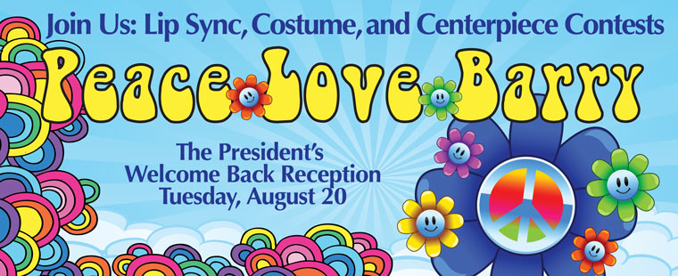 Are You Ready for the President's Welcome Back Reception?