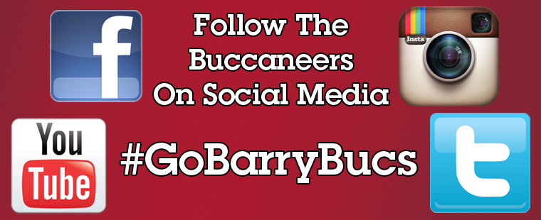 Follow Barry Athletics On Social Media