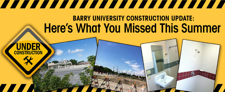 Barry Construction Update – Here's what you missed this summer