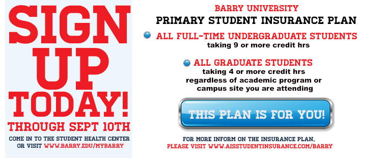 Primary Student Insurance Plan Sign Up