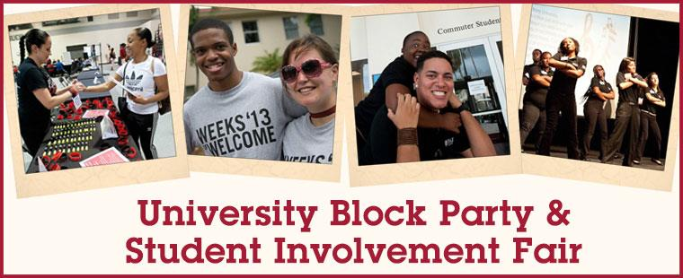 University Block Party & Student Involvement Fair