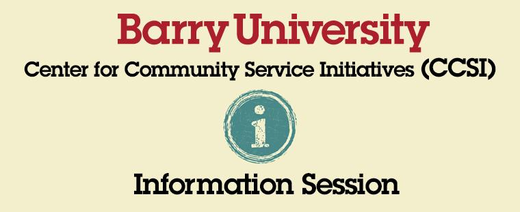CCSI Information Session