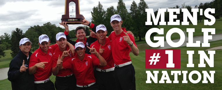 Men's Golf Ranked No. 1 in Country