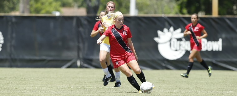 Women's Soccer Rides Hat-Trick To Win Over Wolves