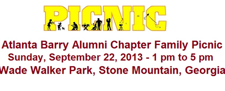 Second Annual Atlanta Barry Alumni Summer Picnic